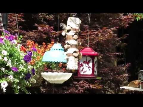 DIY Upcycle Bird Feeder