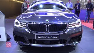 2019 BMW 6-series 640d GrandTurismo - Exterior And Interior Walkaround - 2018 Paris Motor Show