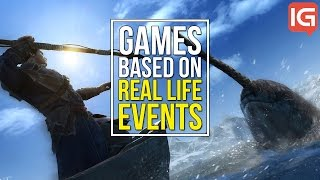 10 Video Games based on Real Life Events