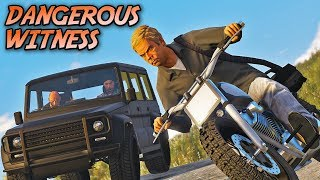 """Dangerous Witness"" - Action Film GTA 5 