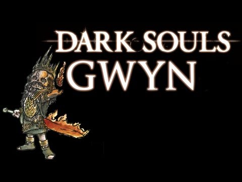 Dark Souls! Beating Gwyn!