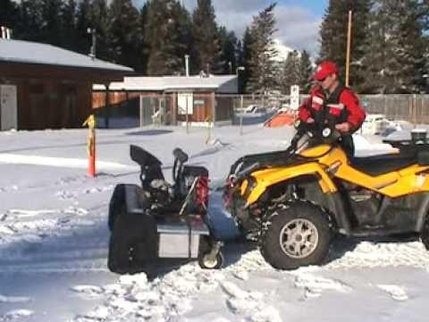 ATV Snowblower Berco 54