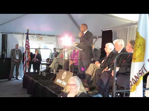 U.S. Transportation Secretary Anthony Foxx at Metro Silver Line Grand Opening Ceremony