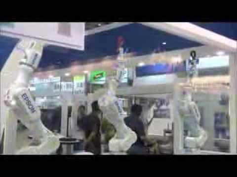 Dancing 6 Axis Robots