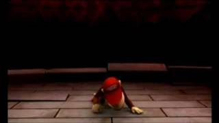 Donkey Kong Country Returns: Final Boss+Diddy Kong's Ending