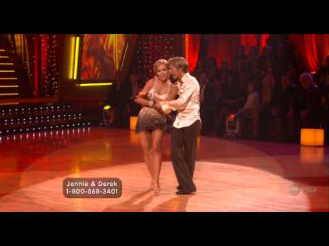 Jennie Garth and Derek Hough - Second Cha Cha Cha, Week 9 of Season 5 - High Quality