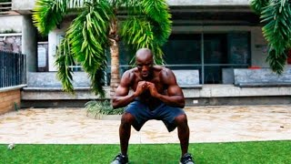 LEGS, GLUTES AND ABDOMINAL WORKOUT AT HOME