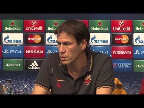 Roma-Coach Rudi Garcia vor ManCity: