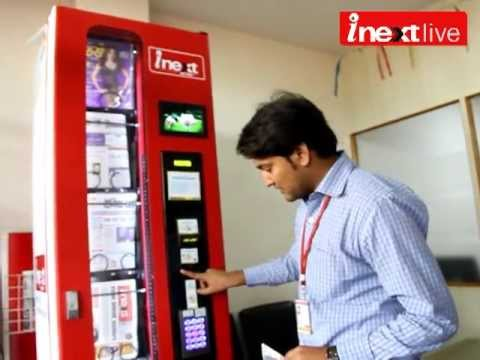 Get your inext from a vending machine