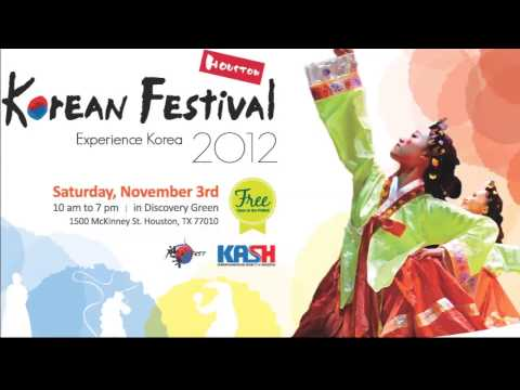 Kim Tae Woo Headlines Korean Festival Houston 2012