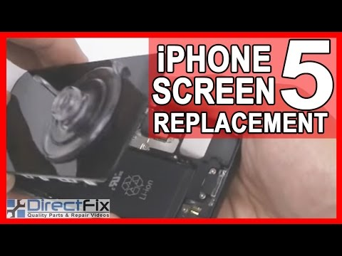iPhone 5 Teardown & Repair Directions   DirectFix
