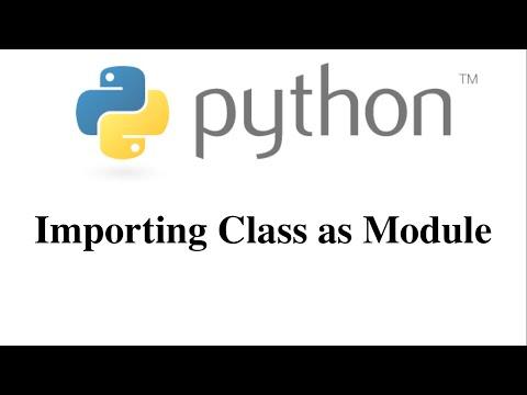 Importing Class as Module [HD 1080p]