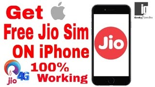 How To Get Jio Sim On iPhone 100% Working Any iPhone