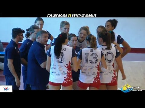 Volley Roma vs Betitaly Maglie 2-3