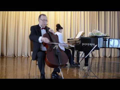 Глиэр Рейнгольд Морицевич - Баллада для виолончели и фортепиано