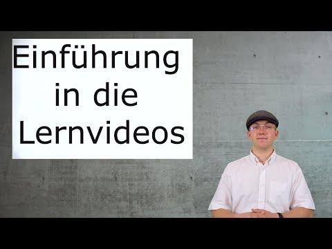 Aufnahmetest Psychologie - Lernvideos:  Einführung