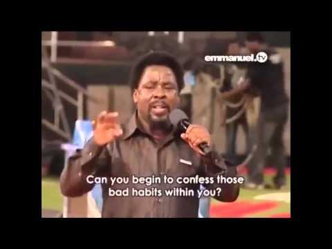 Разрушь свои плохие привычки! Молитва с Т.Б. Джошуа