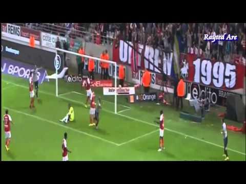Andre Ayew Rabona goal vs Reims