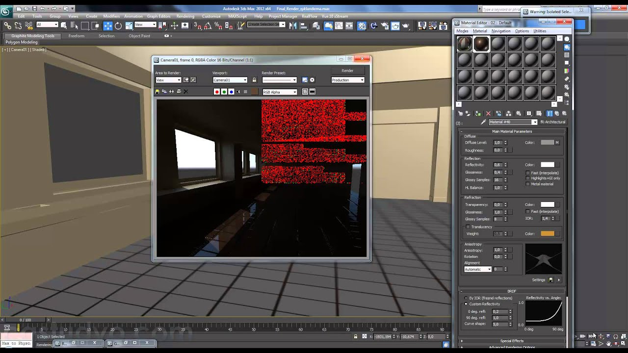 Finalrender for maya (and max) can do this