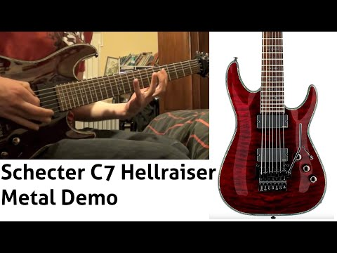 Schecter C-7 Hellraiser - Metal - The Reaver video