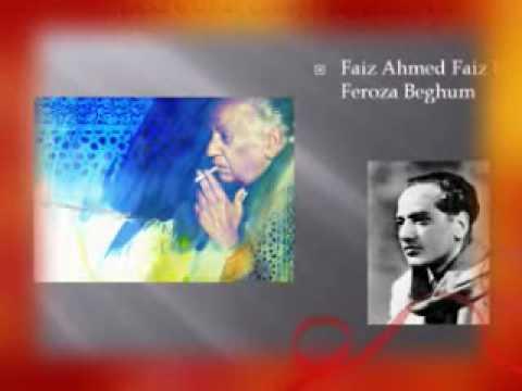 Raz e ulfat chhupa ke daikh-Faiz Ahmad faiz by Feroza Begum