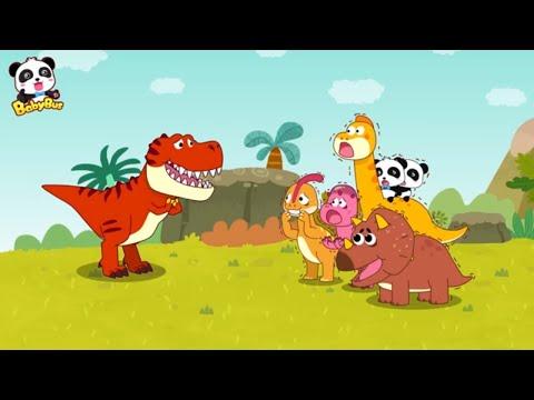 티라노가 위로워요  친구를 원해요 공룡동요 베이비버스 인기동요.