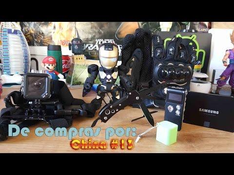 De compras por China #13: Samsung SSD EVO, Iron Man, grabadora audio y más