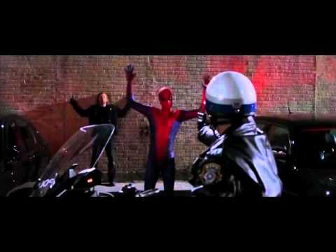 The Amazing Spider Man   'car Thief' Full Scene video