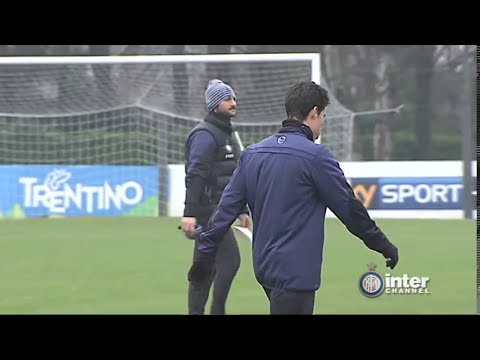 ALLENAMENTO INTER REAL AUDIO 04 02 2014