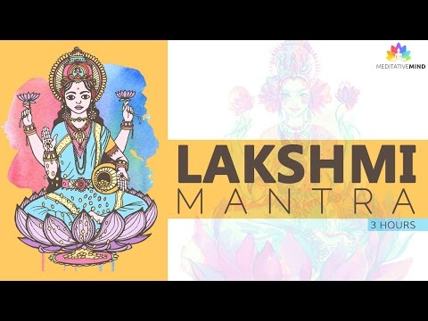 POWERFUL WEALTH MANTRA | Lakshmi Mantra | Mantra Meditation Music