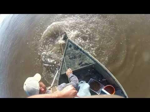 Trotlines on the Mississippi River