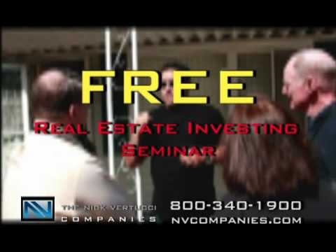 Real Estate Investing Seminar With Nick Vertucci!
