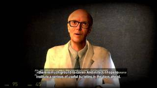 [HD][Half-Life2] Dr. Isaac Kleiner Speech (Subtitles)