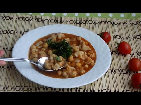 Mantı çorbası nasıl yapılır - Mantı çorbası ( yüksük çorbası ) tarifi - Çorba Tarifleri