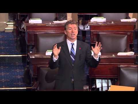 SENATE FLOOR: Sen. Paul Speaks Out Against Nuclear Option- December 12, 2013