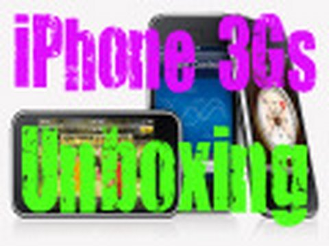 iPhone 3Gs Unboxing.