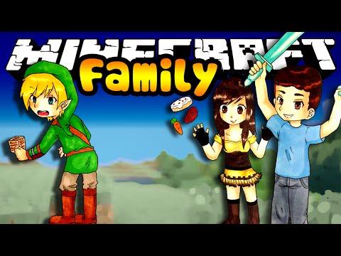 Minecraft Family MOM FISHING FOR TREASURE