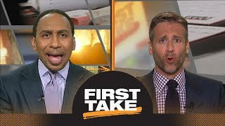 Stephen A.: Damian Lillard willing to leave Trail Blazers for Lakers or Knicks | First Take | ESPN