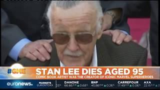 Stan Lee, Marvel Comics' real-life superhero, dies at 95 | #GME