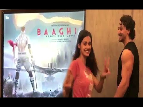 Baaghi 2 FIRST LOOK Poster OUT | Disha Patani And Tiger Shroff
