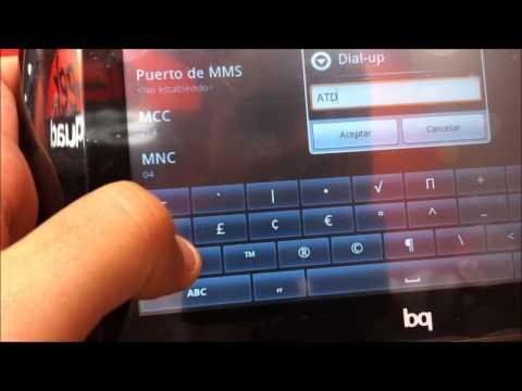 CONFIGURACIÓN DE CONEXIÓN 3G YOIGO PARA TABLETS BQ VERNE 3G GEEKSQUAD