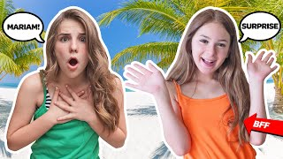 EMOTIONAL REUNION with BEST FRIEND on DREAM Vacation **BOYFRIEND REACTS** 🌺🌴| Piper Rockelle