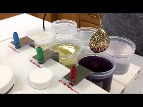 micro gold plating machine