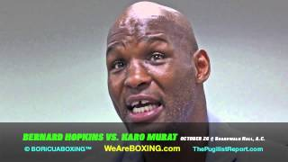 BERNARD HOPKINS: