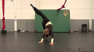 Silke Mehler: Dance Training Oct 2018 clip 2