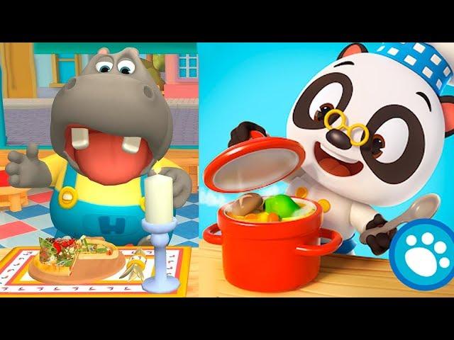 РЕСТОРАН ДОКТОРА бэби ПАНДА 3 Игровой мультфильм для малышей Игра для самых маленьких Мультики детей