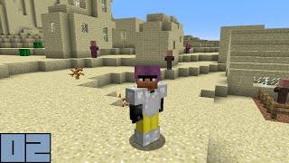 Minecraft Survival - Skeleton Farm [E002]