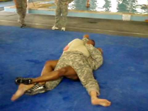 Modern Army Combatives Workout from Baghdad Image 1