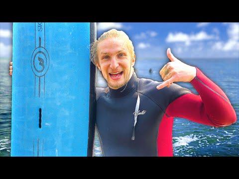 BRAILLE GOES SURFING!