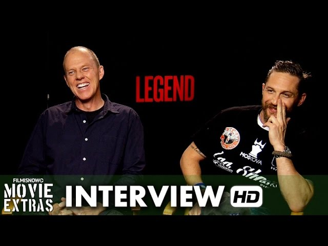 Legend (2015) Official Movie Interview - Tom Hardy & Brian Helgeland